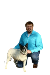 Dr Tyler with dog